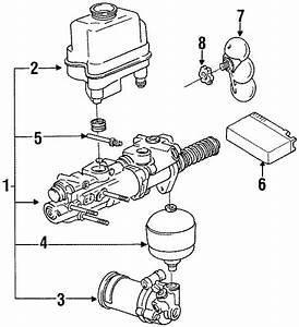 1991 Volkswagen Passat Wagon A  C Evaporator Core Vacuum Reservoir  Air Conditioning  A  C