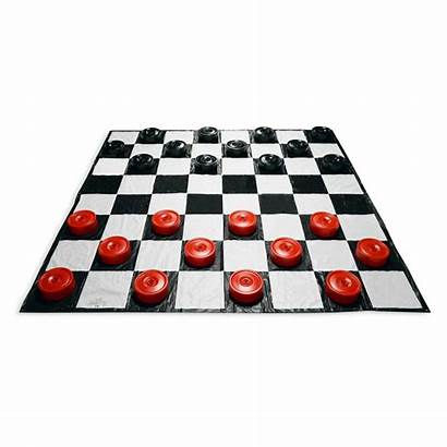 Checkers Giant Mat