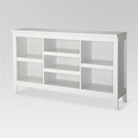 horizontal bookcase bookcase threshold carson horizontal bookcase