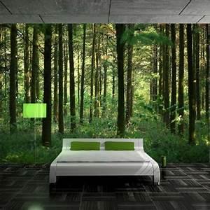 3d tapete fur eine tolle wohnung moderne schlafzimmer With balkon teppich mit tapete wald