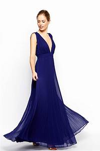 robe bleu nuit adress collection With robe bleu or
