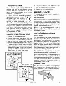 Maytag Lse7806ace Front Load Washer Installation Instructions