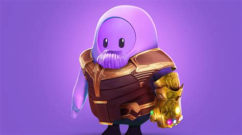 3840x2160 Thanos Fall Guys 4k Hd 4k Wallpapers Images