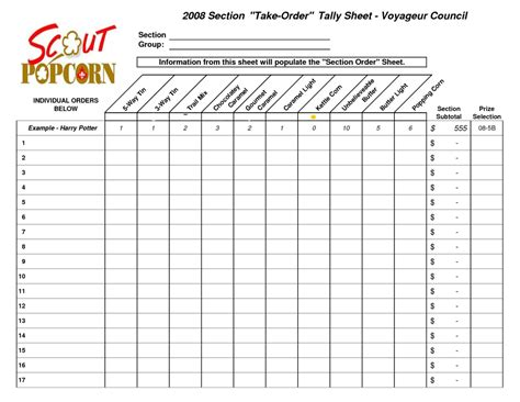 tally spreadsheet payment spreadshee casing tally