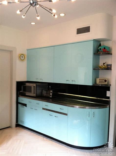 robert  carolines mid century home  dreamy st charles kitchen cabinets retro renovation