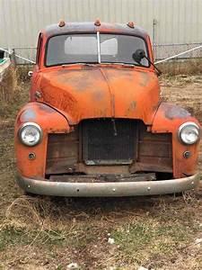 1949 Gmc 3100 Pickup Orange Rwd Manual