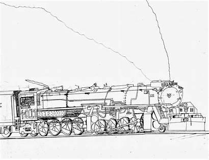 Train Trains Steam Drawing Drawings Draw Sketch