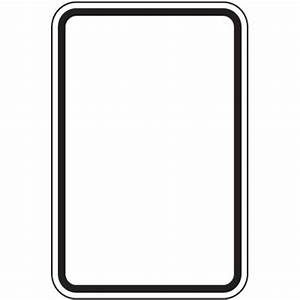 Blank Traffic Sign - ClipArt Best