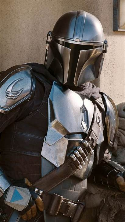 Mandalorian Armor Season Tv Silver Series Wallpapers