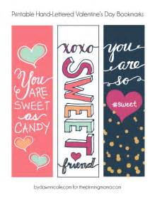 lettered 39 s bookmark printables the pinning