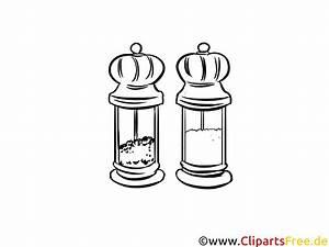 Salz Und Pfeffer Malvorlage Gratis