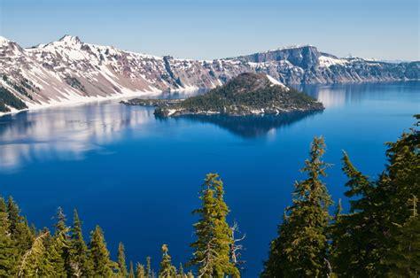 Crater-Lake-Nationalpark - Blauer kann Wasser nicht sein ...