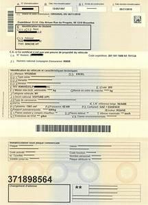 Carte Grise Belge En Carte Grise Francaise : nouveau certificat d 39 immatriculation le blog du car wash damiani ~ Gottalentnigeria.com Avis de Voitures