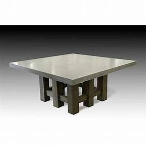 Concrete Dining Room Table Marceladick com