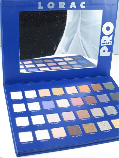 lorac mega pro  palette review swatches musings   muse