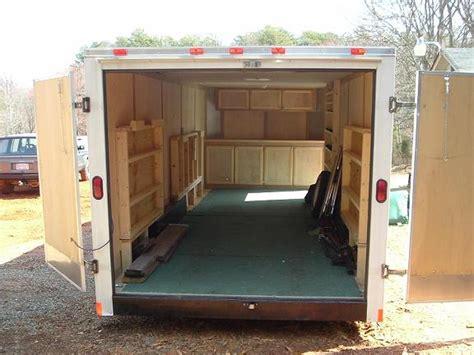 Homemade Enclosed Cargo Trailer