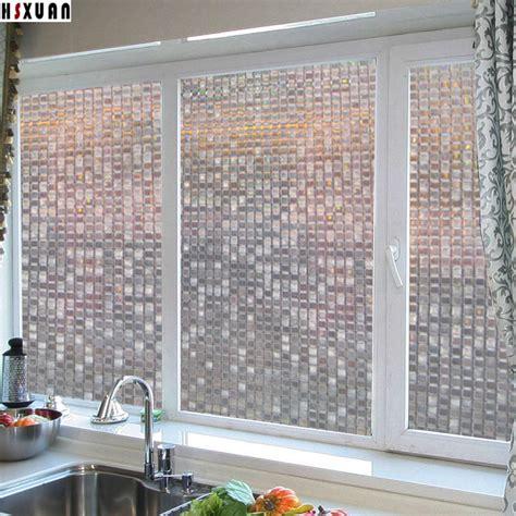 removable privacy window ᑐmosaic decorative glass window 50x100cm 50x100cm 4700