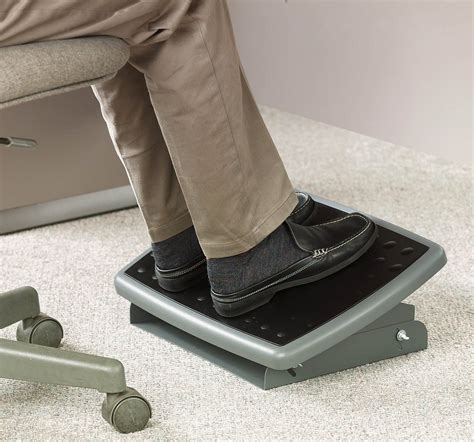 foot stand for desk amazon com 3m adjustable foot rest 18 inch wide non