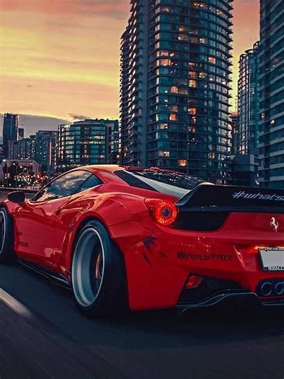 Liberty Walk Ferrari Desktop Mobiles Wallpapers Retina