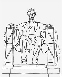 printable abraham lincoln coloring page coloringpagebookcom With lincoln flower car