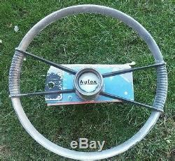 Aluminum Fishing Boat With Steering Wheel by Vintage Boat Steering Wheel Nylox Aluminum Steering Wheel