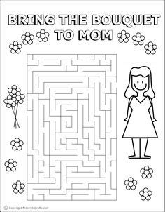 mothers day maze easy  images business  kids