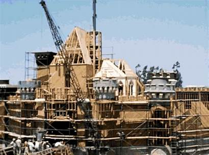 Construction Disneyland Disney Timelapse Years Shows Ago
