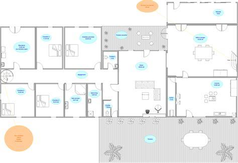 plan de maison moderne interieur maison moderne
