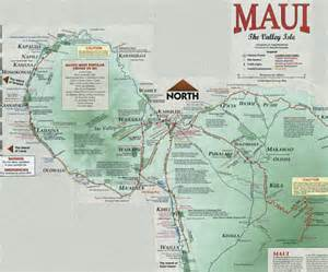 West Maui Map