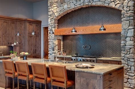 Corrugated Metal Backsplash : Corrugated Metal Backsplash Kitchen Contemporary With