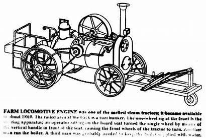 1860 Locomotive Farm Industrial Steam Pages Tractor