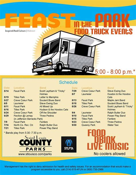 st louis cuisine st louis food truck events for the whole family ekf