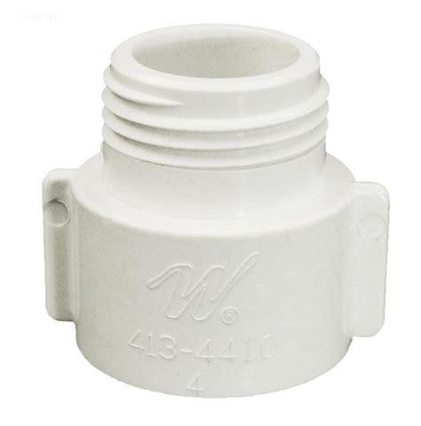 pool spa fish tank drain adapter 3 4 quot pvc to garden hose