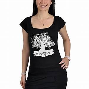 Vetement Harry Potter Femme : t shirt harry potter always snape lily professeur ~ Melissatoandfro.com Idées de Décoration