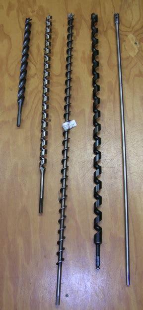 long drill bit extension woodboring auger bits log
