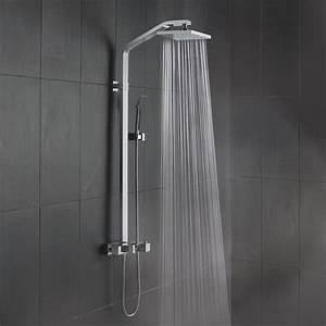 Barre De Douche Avec Douchette : guide pratique pour bien choisir une colonne de douche ~ Edinachiropracticcenter.com Idées de Décoration