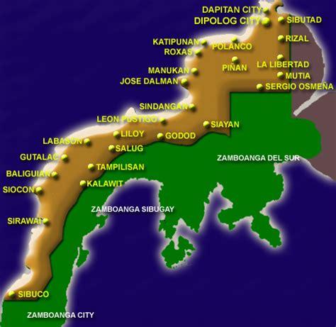 maps map zamboanga