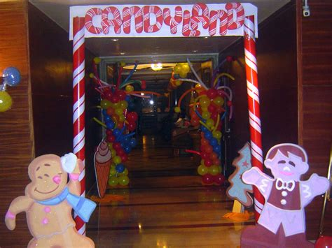 Homemade Candyland Decorations  Food Craft Gallery Page