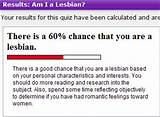 Take am i a lesbian test