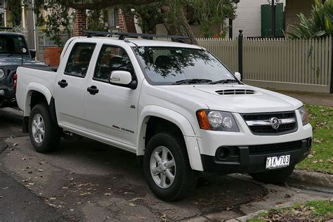 The price will now start at $32,000. Holden Colorado - Wikipedia