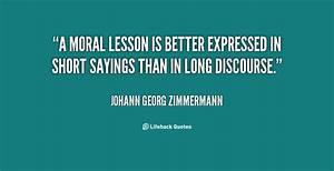 Morals Quotes QuotesGram