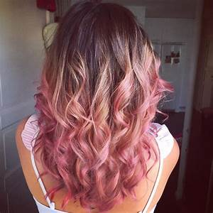 Top 25 Hottest Blonde to Pink Ombré Hair Colors - Hair ...
