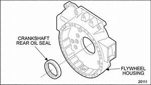 Series 60 Crankshaft Rear Oil Seal