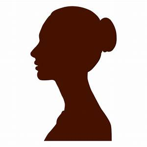 Woman profile silhouette eastrn europe - Transparent PNG ...