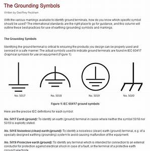 Electrical Diagram Ground Symbol