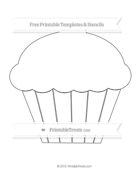 cupcake template printable free printable large cupcake template printable treats