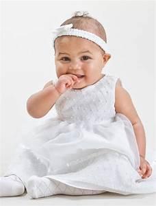 Baby girls ivory christening dress | Baby girls ivory ...