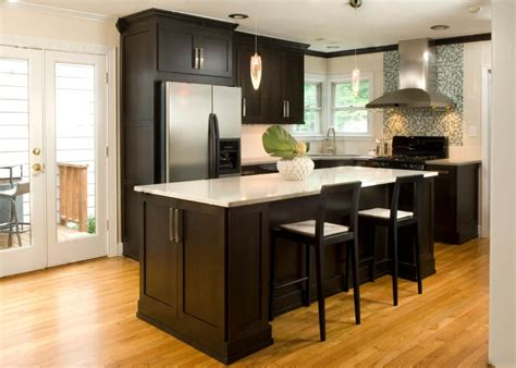 kitchen design tips for kitchen cabinets 555 black metal carving pendant lamps rustic wooden dining set stainless steel sinks chocolate wooden cabinet dark wood floors with white cabinets desireerover 1024x731