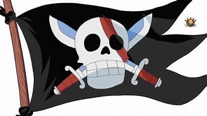 Shanks Piece Flag Crew Flags Luffy Portgas