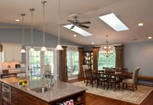 open floor plan kitchen and living room new open floor plan addition traditional living room baltimore by owings brothers